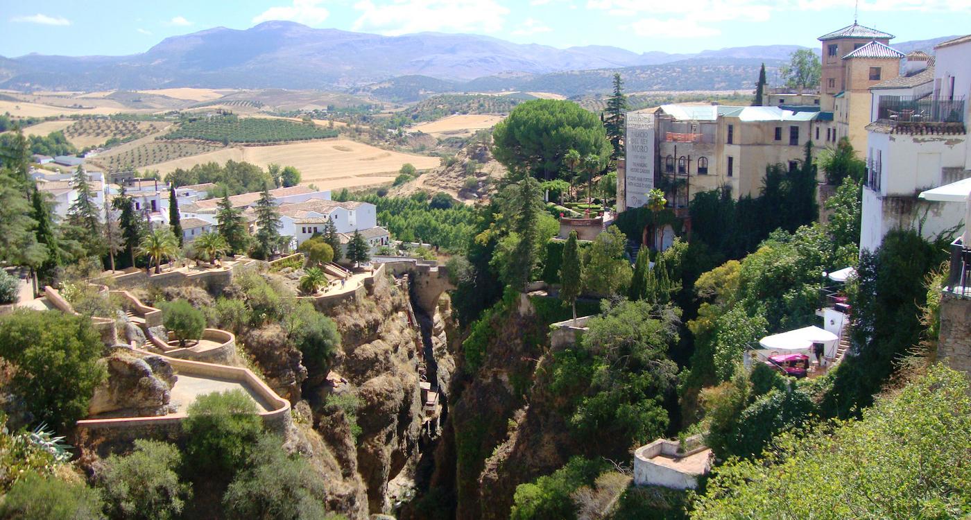 citytrip ronda andalusie brug 2
