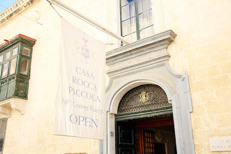 citytrip valletta Casa-Rocca-Piccola