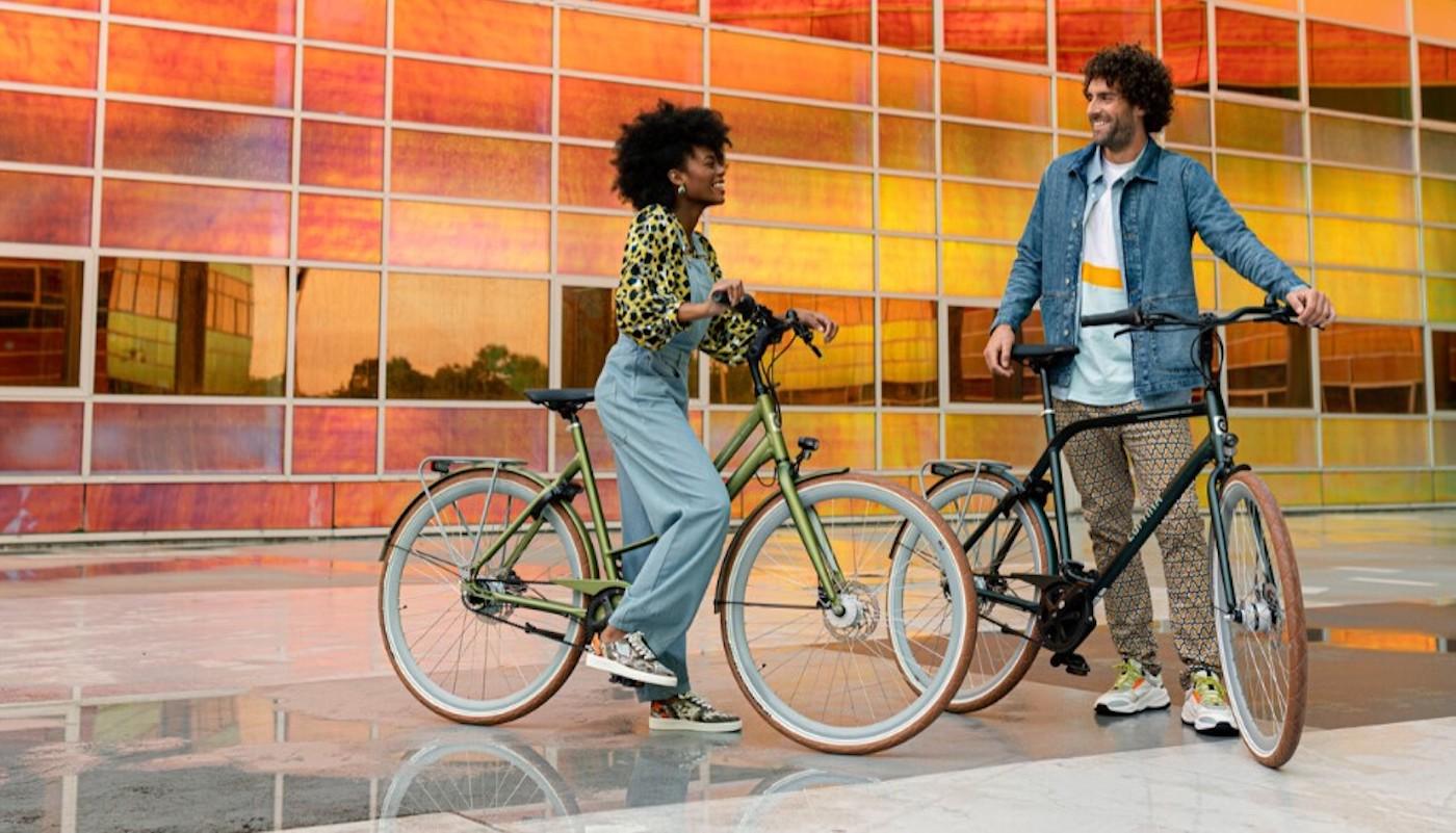 cortina hippe fietsen