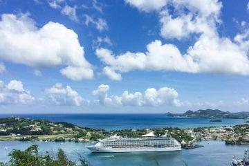 cruise in het Caribisch gebied