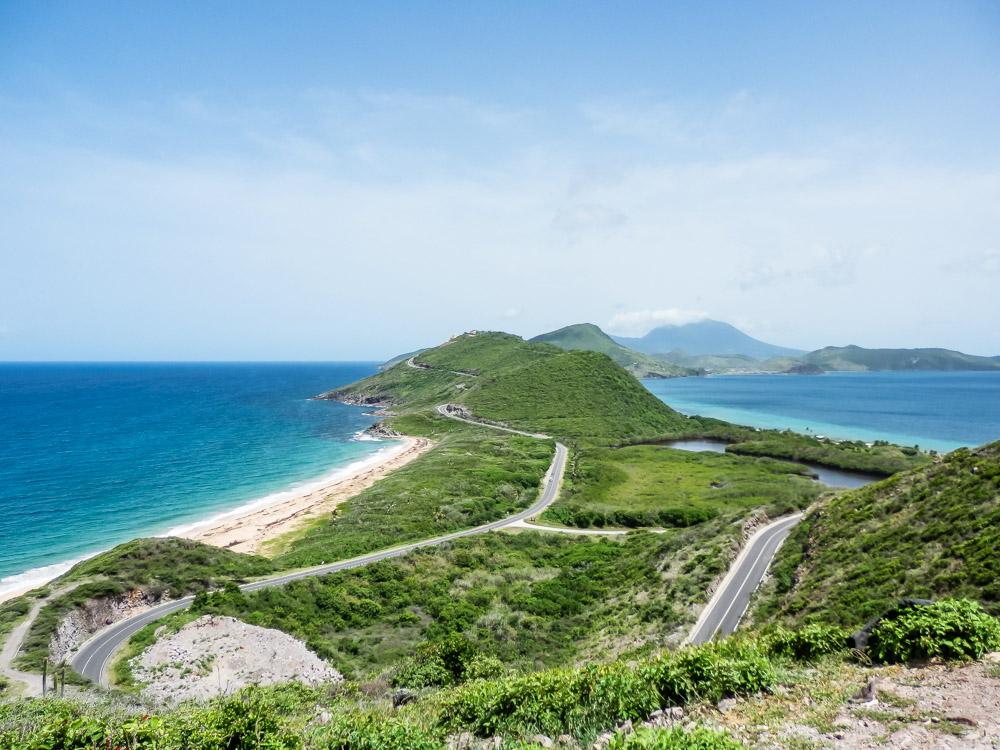 cruise in het Caribisch gebied st kitts