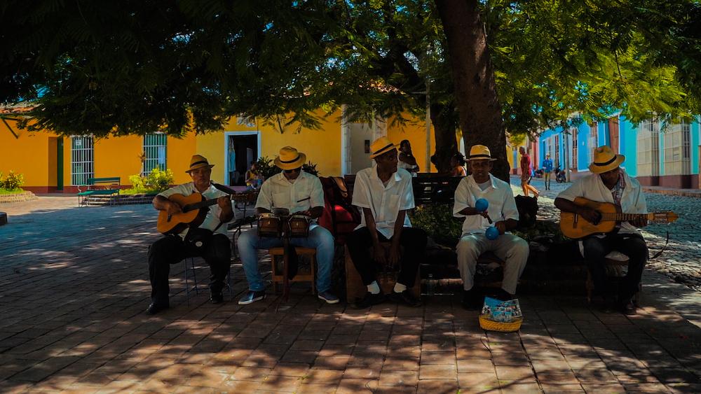 cuba muzikanten parkje