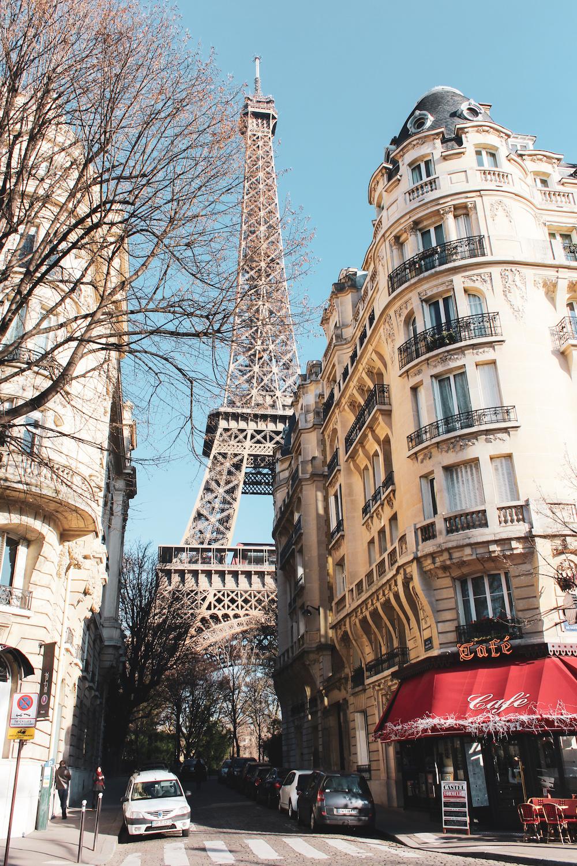 dagje parijs straatje eiffeltoren