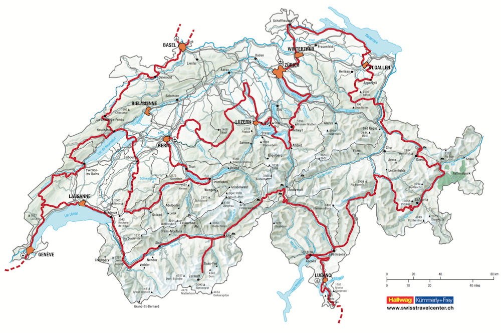 de Grand Tour of Switzerland