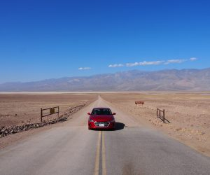 Death valley tips rijden