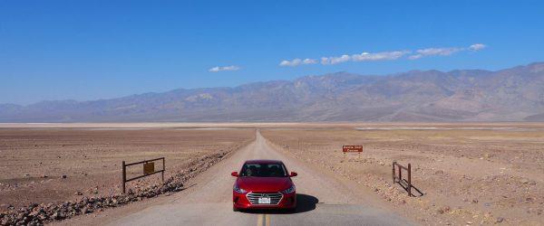 Death valley tips rijden