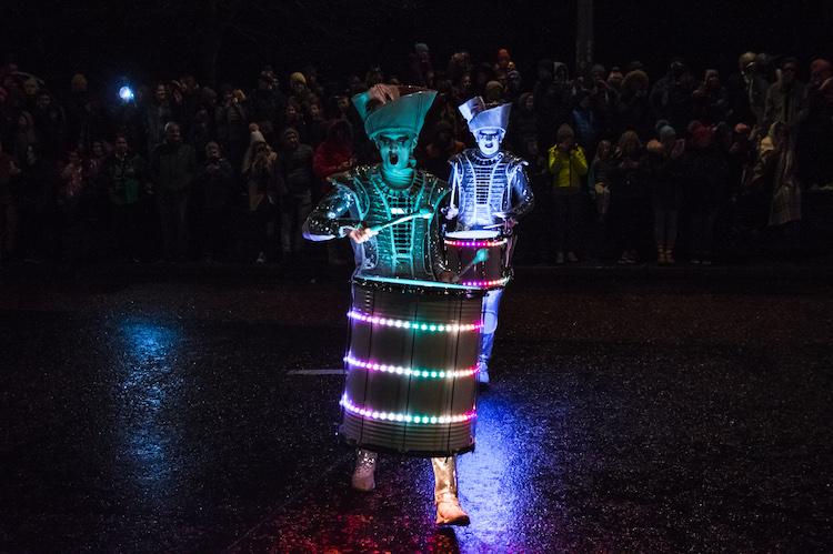 derry halloween ierland parade