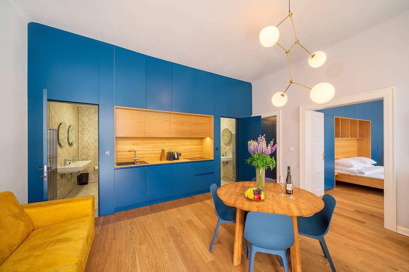 design airbnb in praag