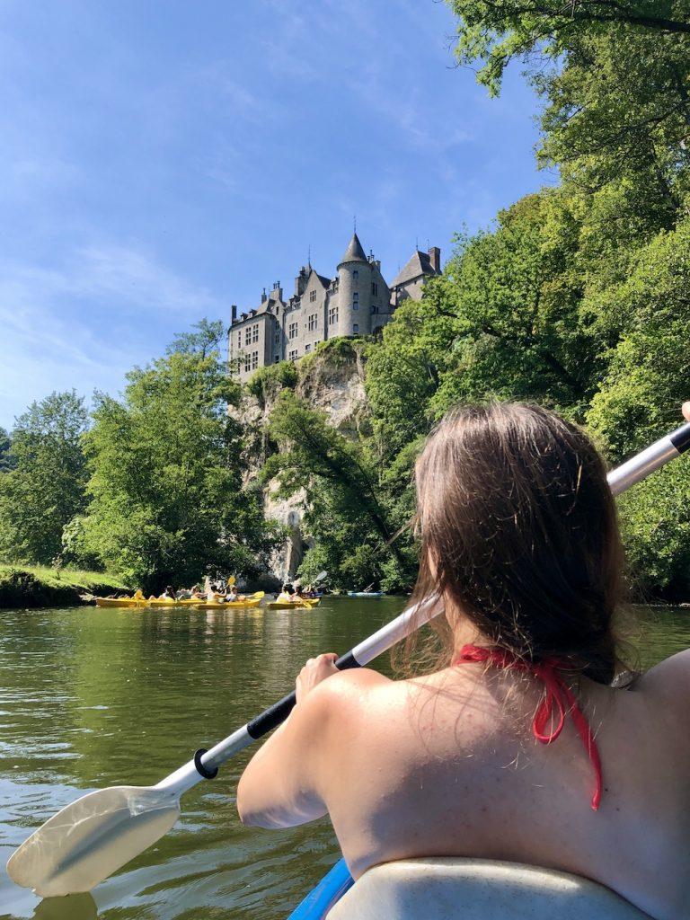dinant belgie kanoën