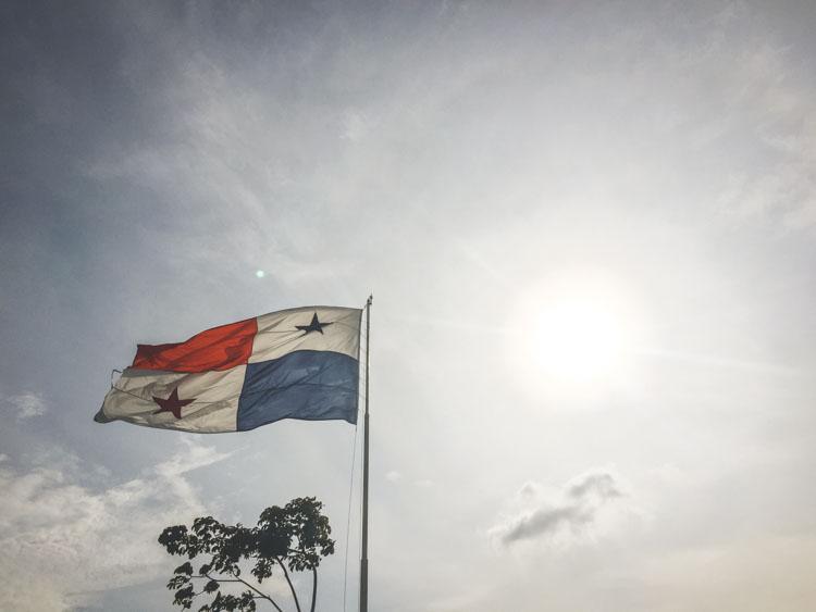 doen in Panama vlag
