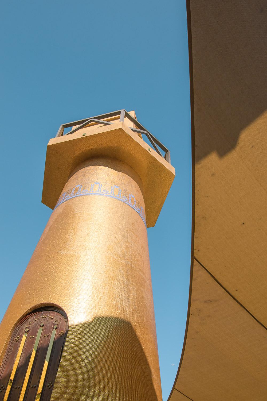 doha qatar vakantie Golden Masjid