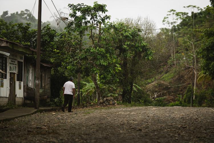 dorpje in de manu jungle