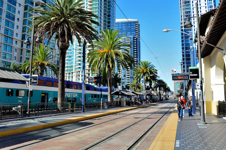 downtown in san diego