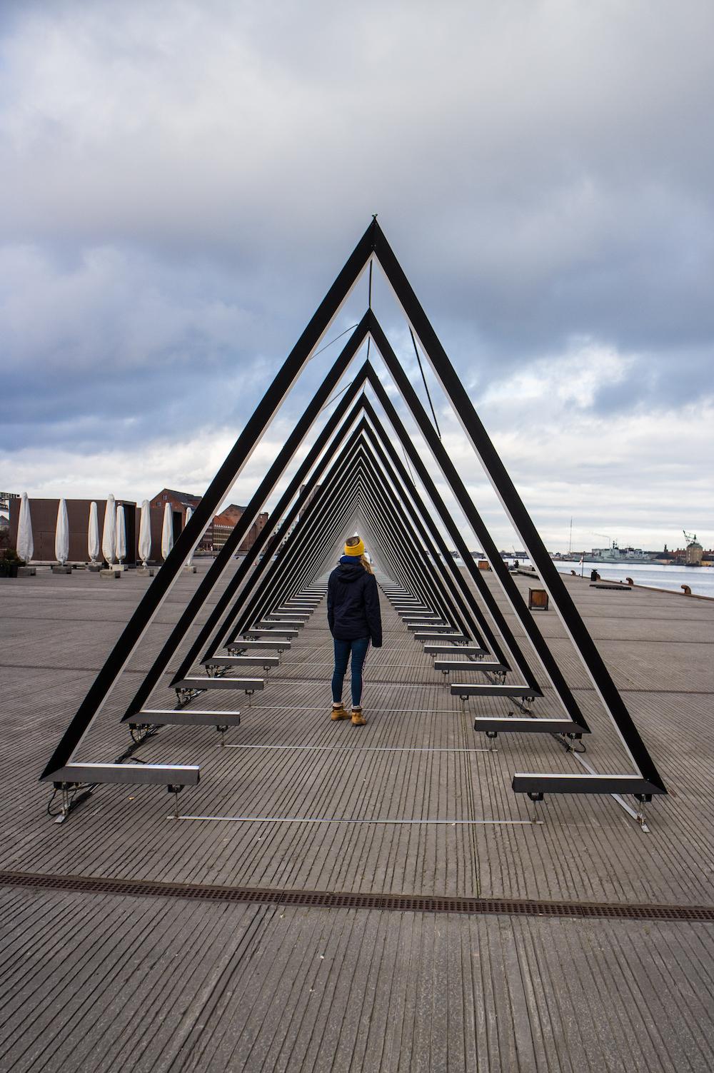driehoeken haven in kopenhagen stedentrip