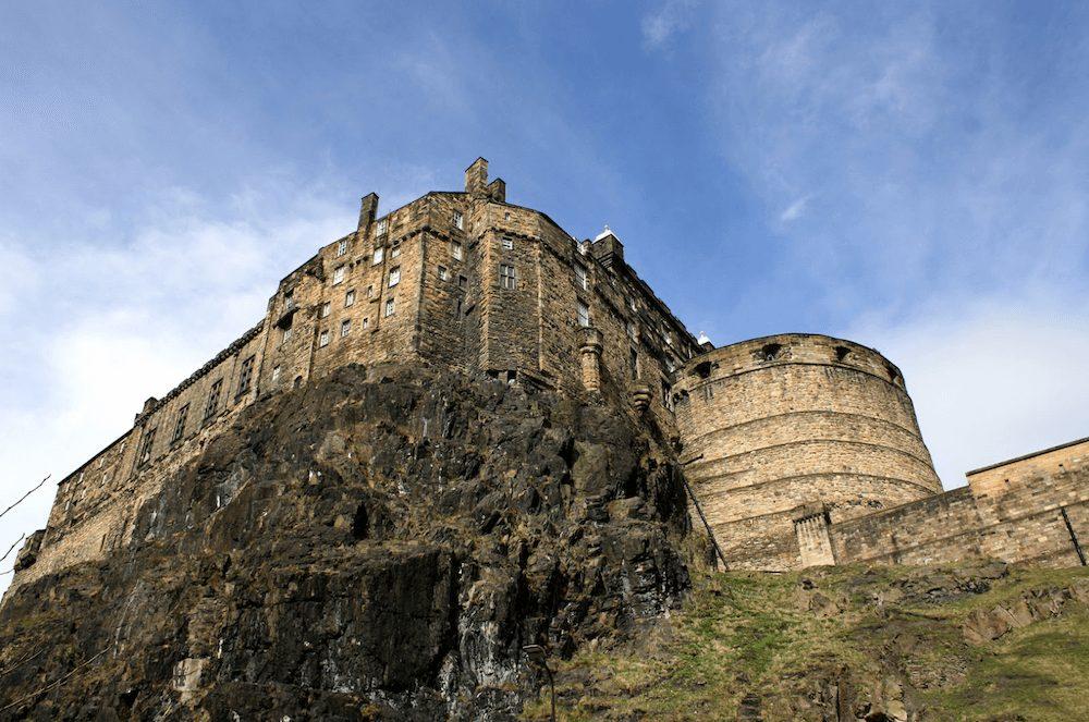 edinburgh castle rock