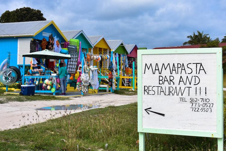 eiland antigua mama pasta bar