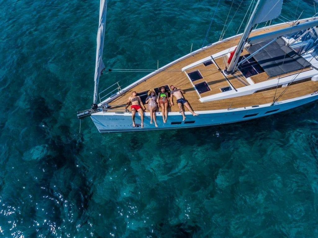 eilandhoppen kroatie the sail trip