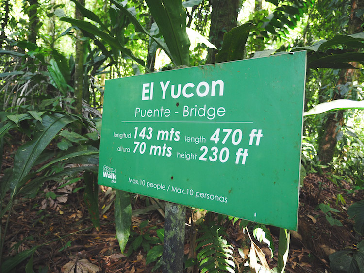 el yucon puente bridge costa rica sky adventures sky walk