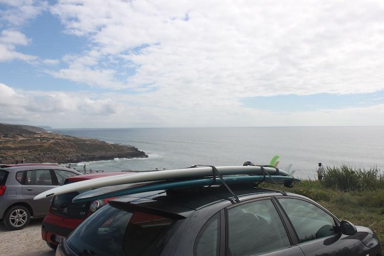 ericeira portugal surfplanken