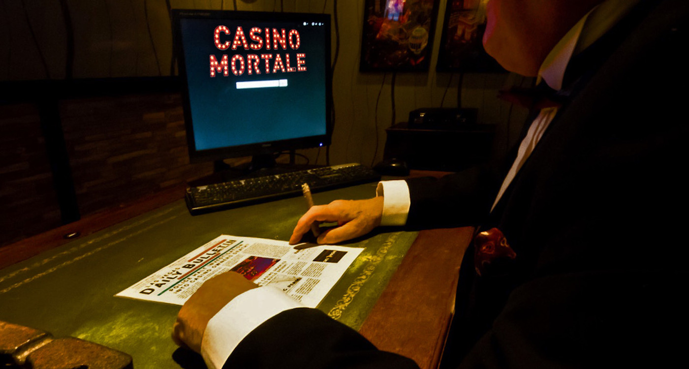 escape room Casino Mortale