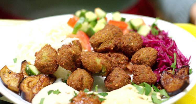 falafel eten jordanie