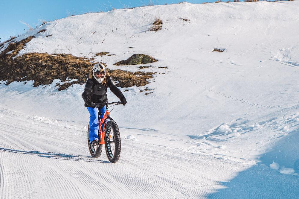 fatbiken wintersport les menuires