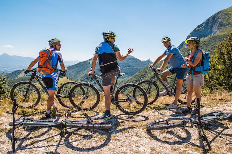 fietsen in Monte Cucco umbrie