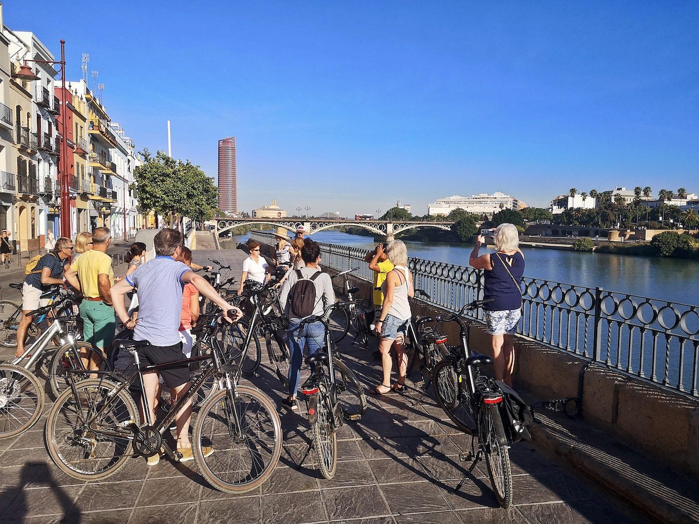 fietsen in sevilla fietstour