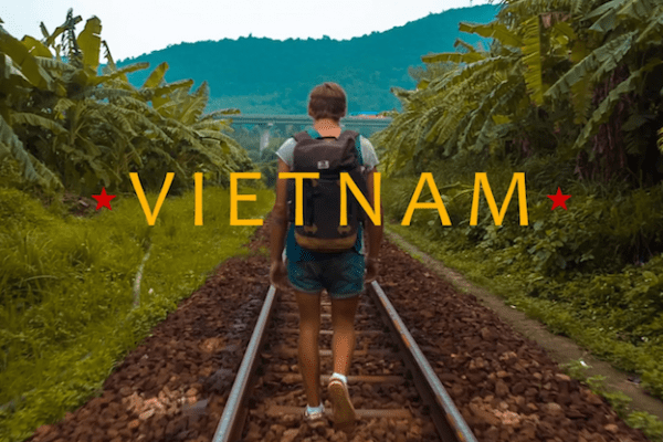 filmpje road story backpacken vietnam