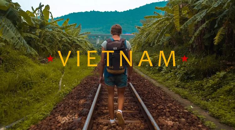 filmpje road story backpacken vietnam