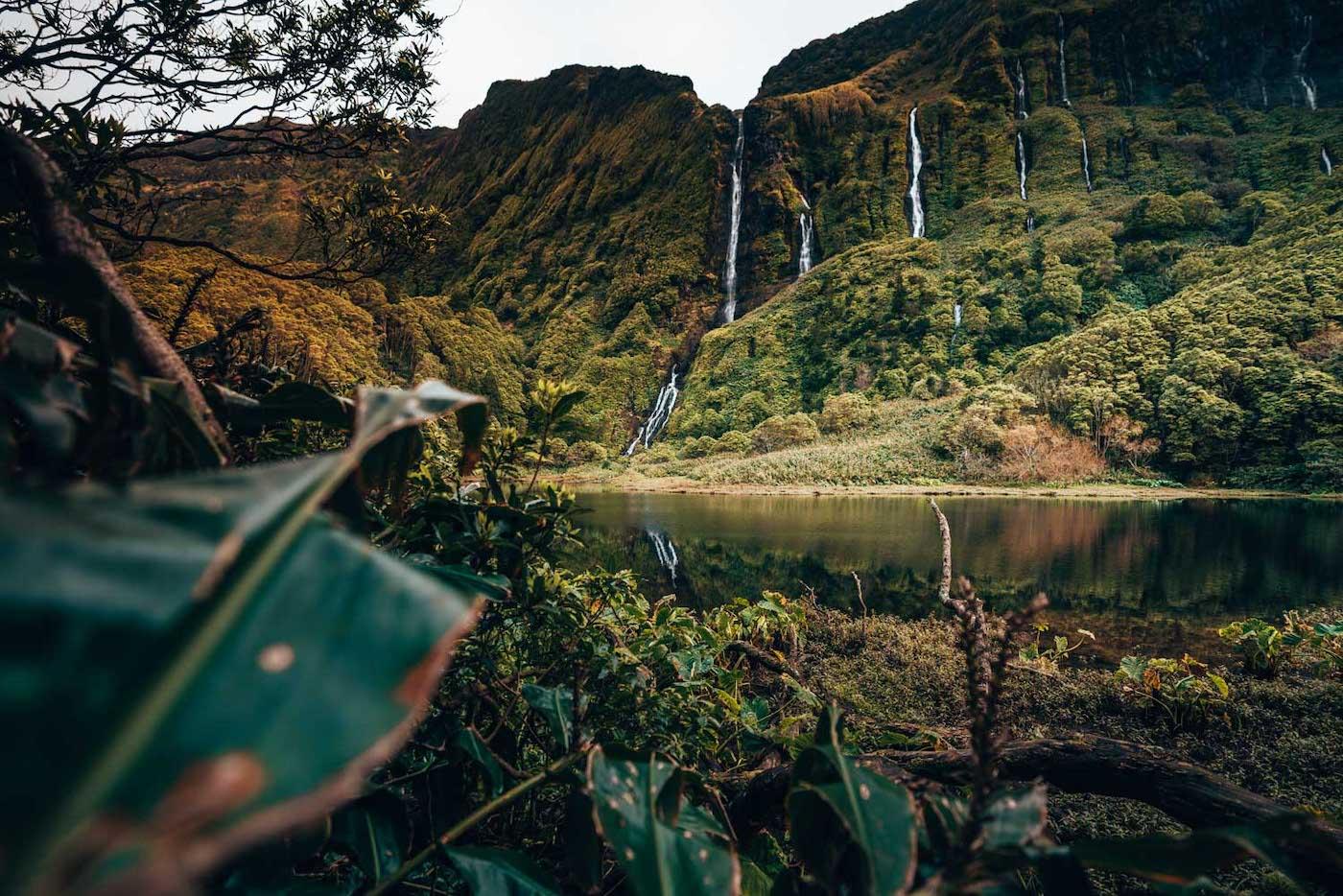 flores azoren wat doen watervallen
