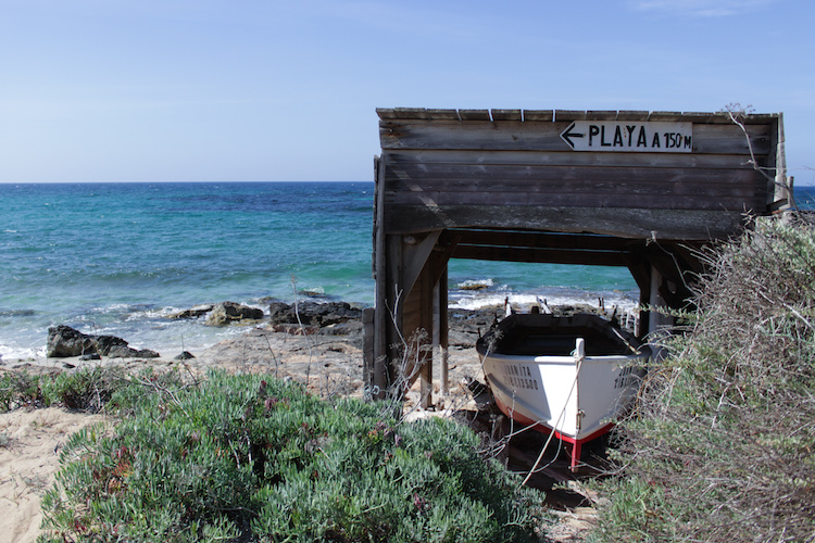 formentera oude boot