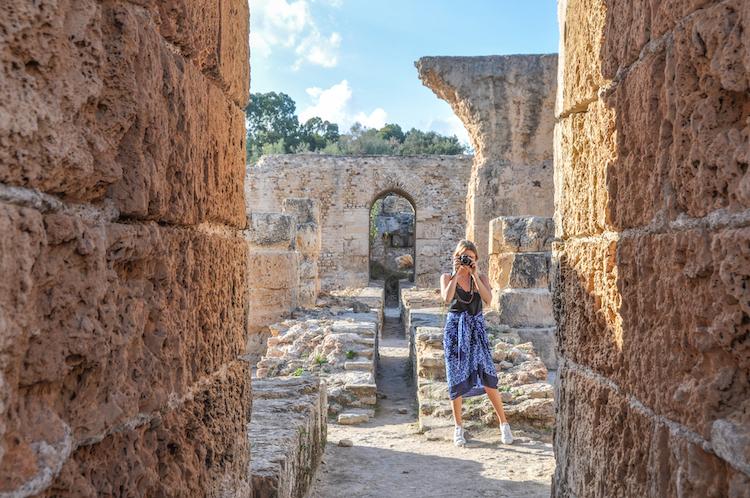 fotograferen tunesie activiteiten Carthago 1