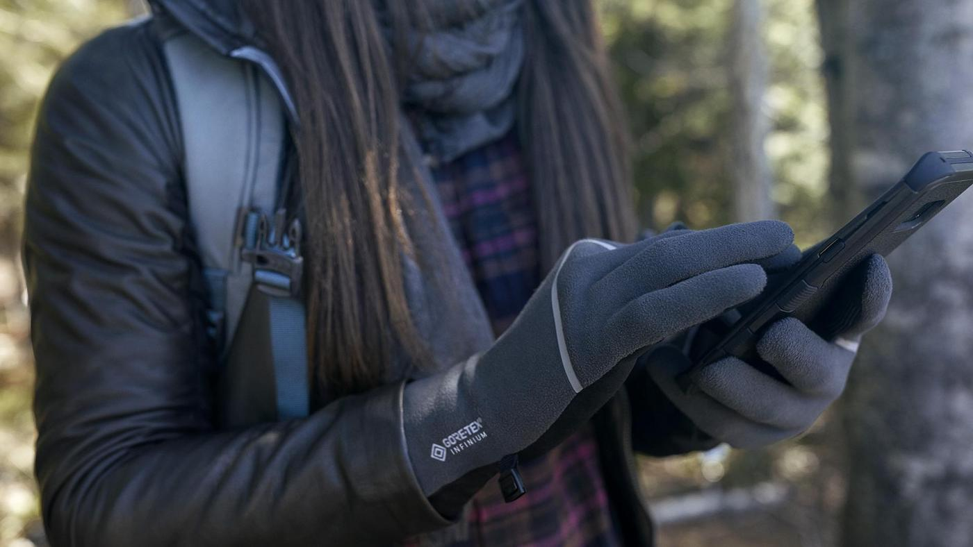 fotografie handschoenen winter gore tex north face