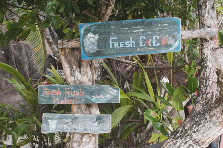 fresh coco la digue