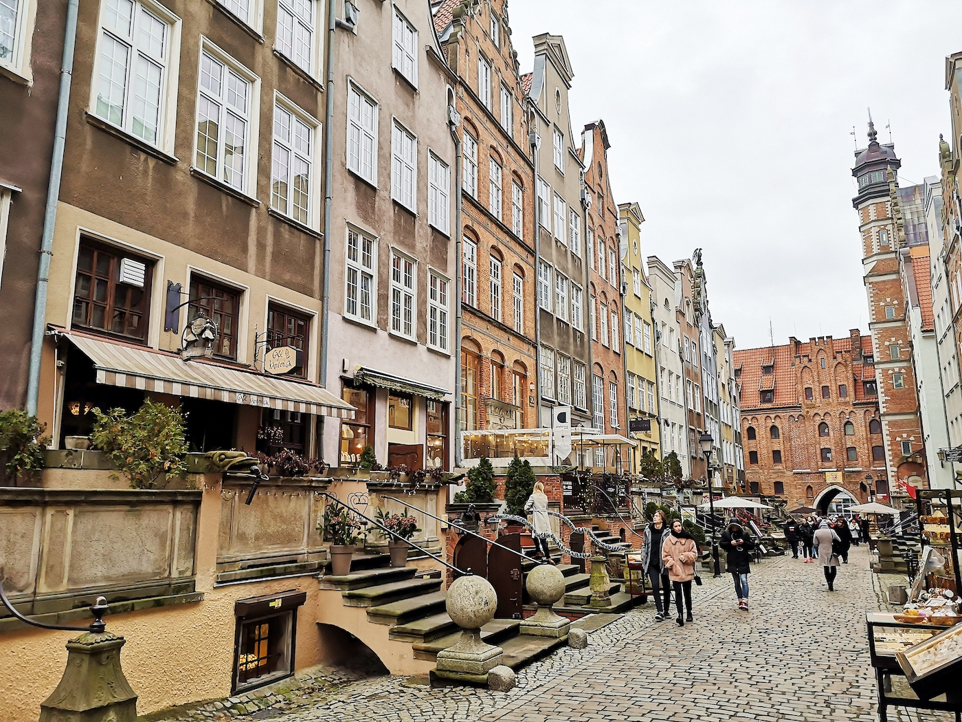 gdansk bezienswaardigheden Mariacka street