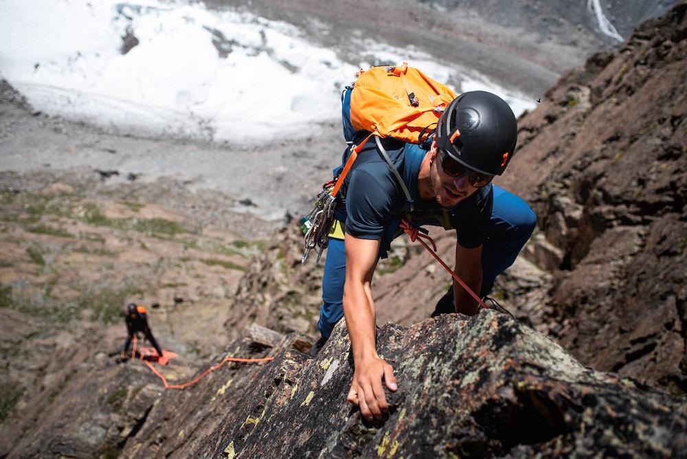 gemakkelijke 4000ers beklimmen tijdens klim