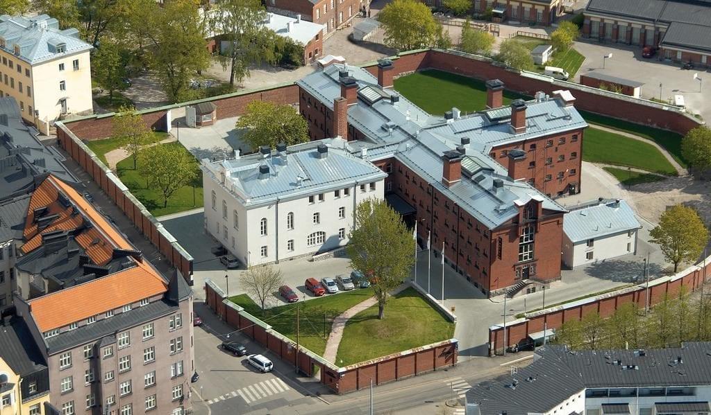 gevangenis hotel katajanokka finland buitenkant