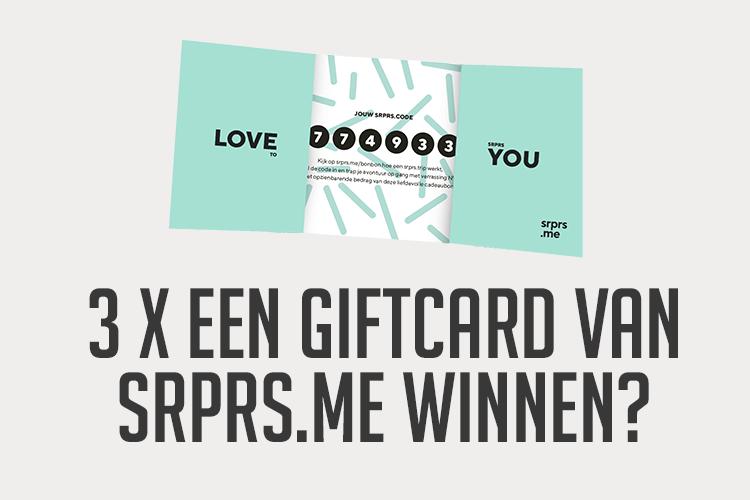 giftcard srprs.me winnen -1