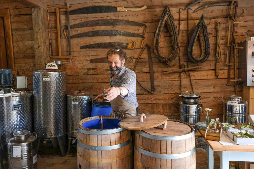 gin proeverij Bregenzerwald oostenrijk