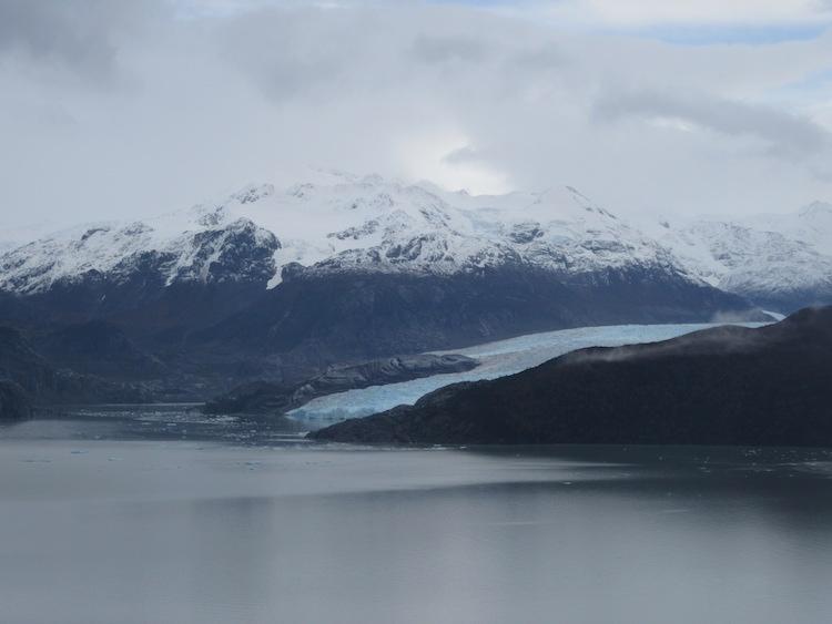 gletsjer torres del paine