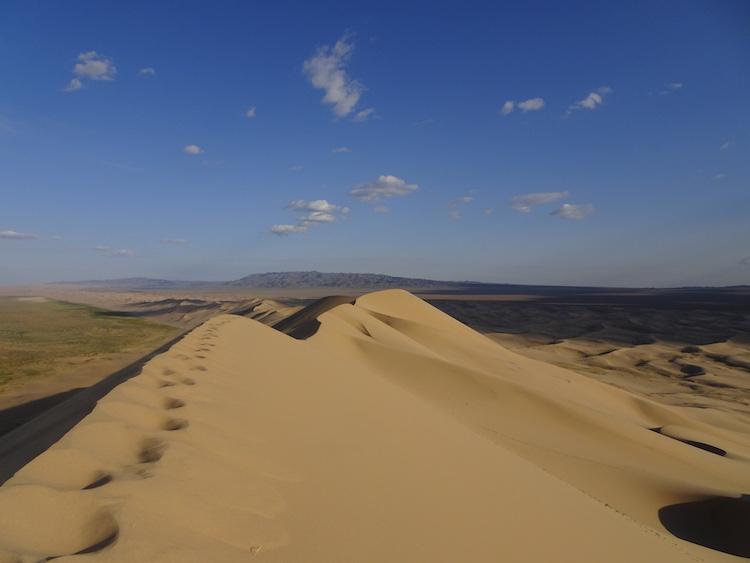 gobi woestijn noord azie backpack route
