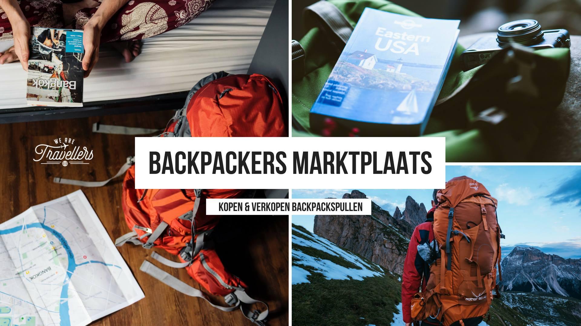 goedkope backpack spullen backpackers marktplaats