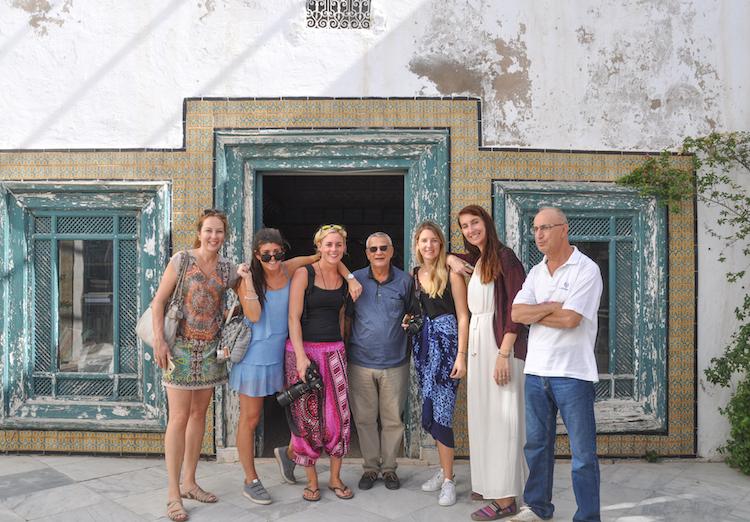 groepsfoto tunesie locals