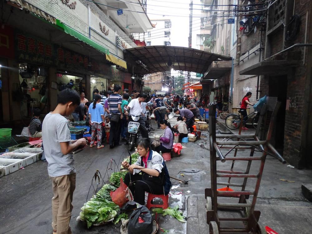 guangzhou Lokale markt