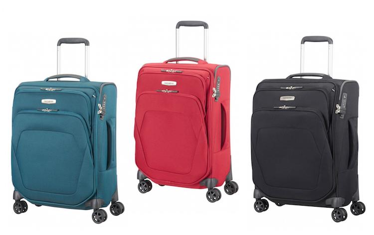 handbagage koffer samosnite spinner