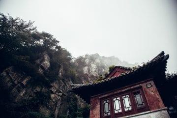 heilige berg taishan china