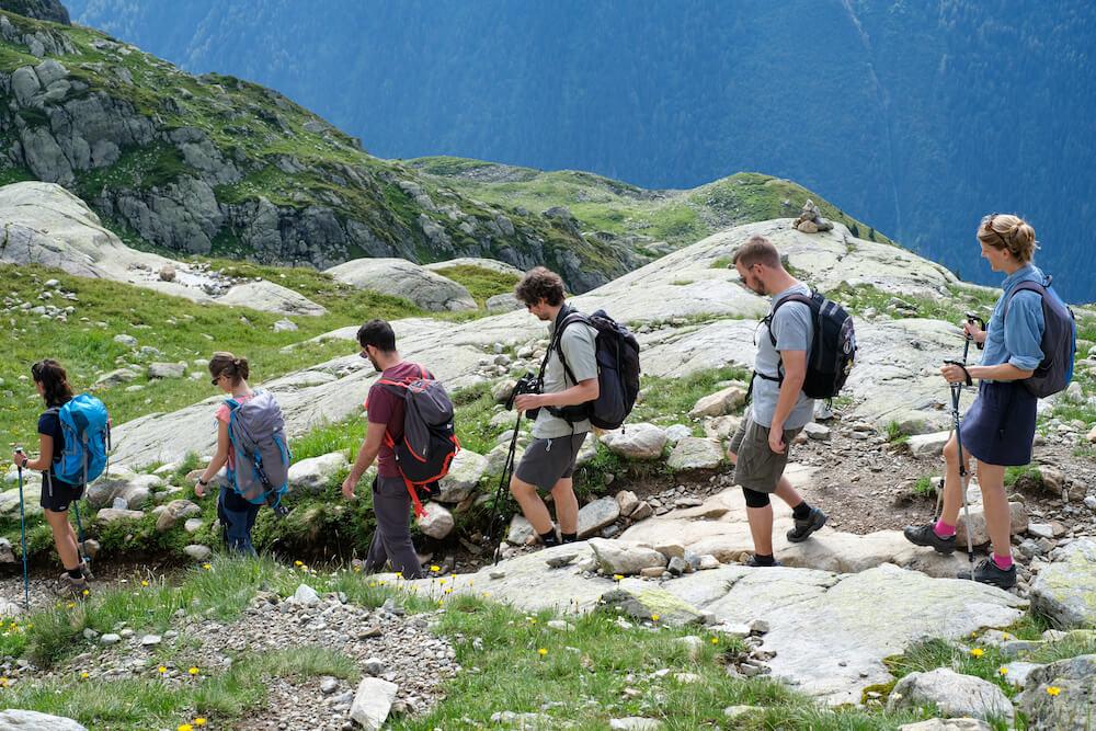 hiken UCPA actieve vakantie