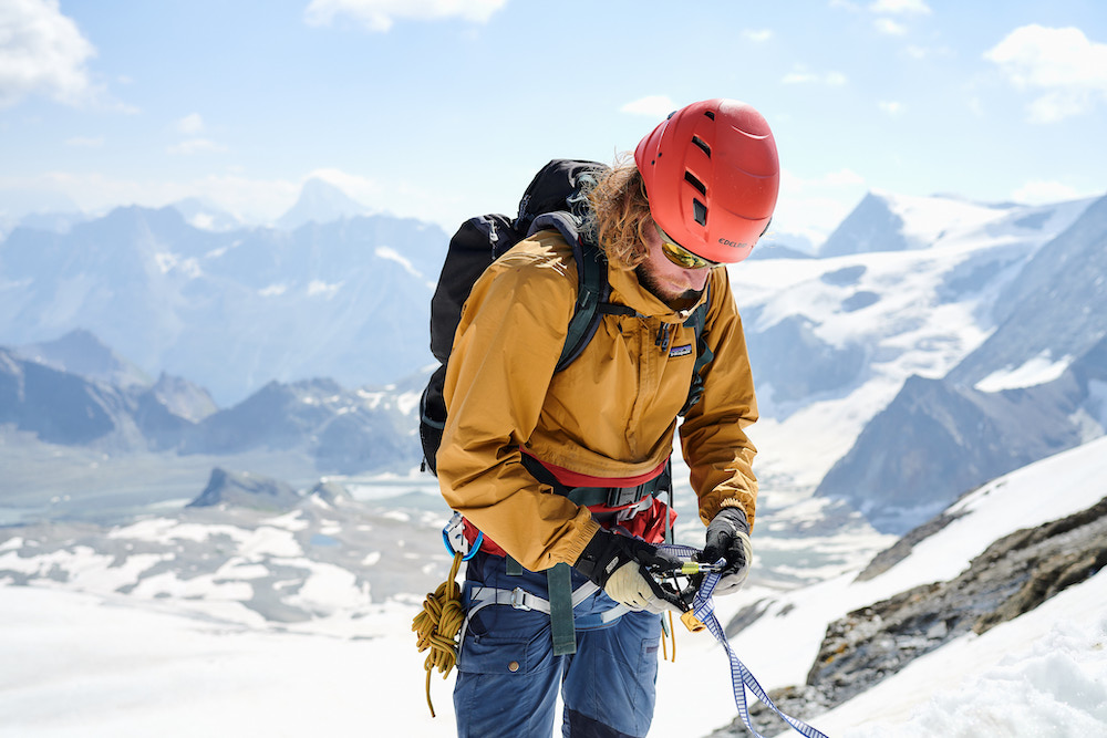 hiken in de zwitserse alpen