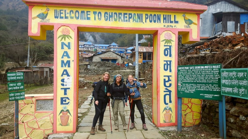 himalaya trekking nepal poon hill
